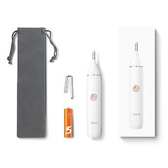Mini Electric Trimmer- Ear, Nose Hair Shaver, Clipper Cleaner