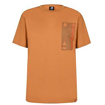 New Balance Mens Essential T-Shirt Crew Neck Short Sleeve T Shirt Tee Top