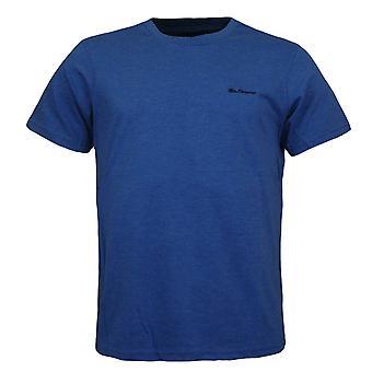 Ben Sherman Crew Neck Short Sleeve Blue Men T-Shirt 0062889B 150