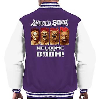 Sega Altered Beast Welcome To Your Doom Men's Varsity Jacket