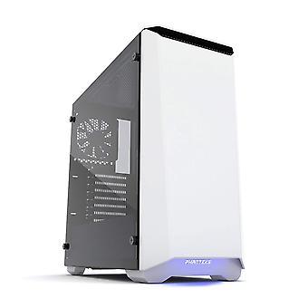 Phanteks Eclipse P400S Glass Midi Tower Case - Noise Dampened White