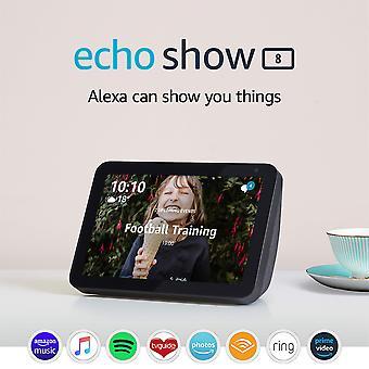 Παρουσιάζοντας echo δείχνουν 8 | μείνετε σε επαφή με τη βοήθεια της alexa, ύφασμα κάρβουνο