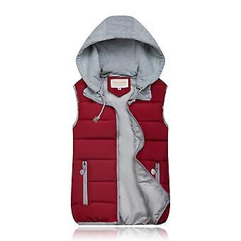 معطف الشتاء المرأة سترة دافئة مقنعين، بالإضافة إلى حجم سترة القطن للإناث