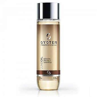 System Professional Luxe Oil Keratin Protect Shampoo L1 250 ml