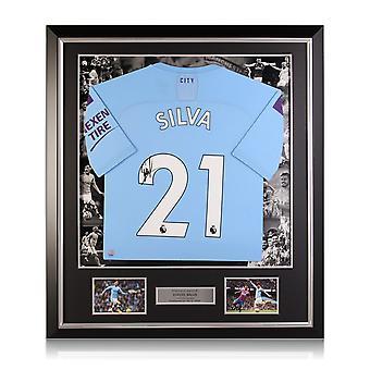 David Silva fichó por el Manchester City por 2019-20. Marco de lujo