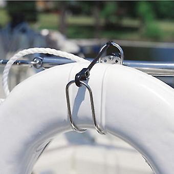 Лодка Аксессуары морской нержавеющей стали подковы Lifebuoy кронштейн кольцо держатель