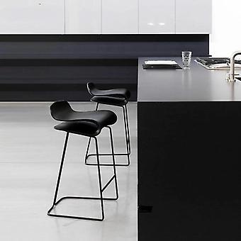 Moderne minimalistische Bar Stuhl Schmiede eisen Hocker High Front