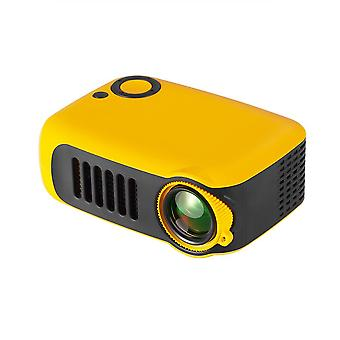 TRANSJEE A2000 Projector 800 Lumens 1000:1 Contrast Ratio 320*240P Native Resolution  Supported 1080