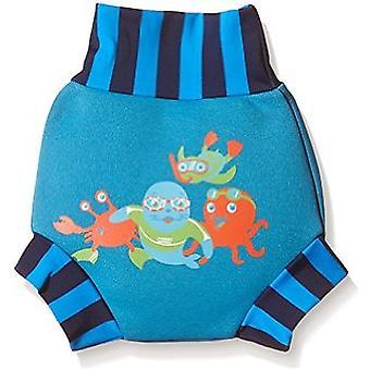 Zoggs Swim Zoggy certeza fralda - azul