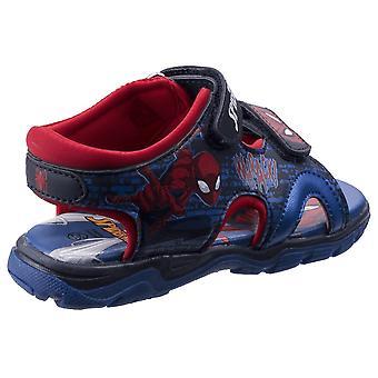 Leomil Childrens Boys Spiderman Touch Fastening Sandals