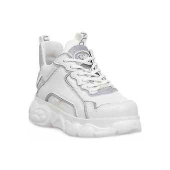 Buffalo chai white silver sneakers fashion