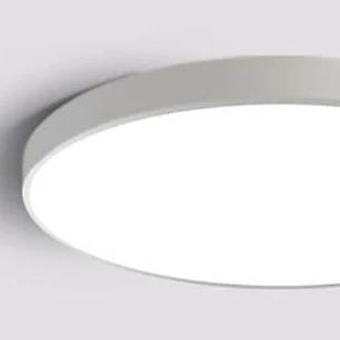 Led Modern Acrylic White Light Ceiling Lamp, White