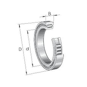 INA SL182920XL Cylindriskt rullager
