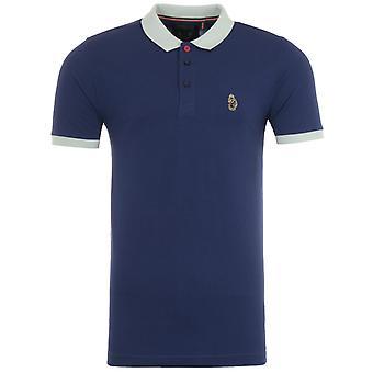 Luke 1977 Texas Contrast Polo Shirt - Patriot Blue