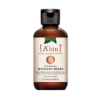 A'kin Cleansing Micellar Water Natural Australian Skin Care Hydrating Cleanser