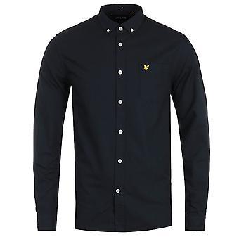 Lyle & Scott Lightweight Oxford Shirt - Dark Navy