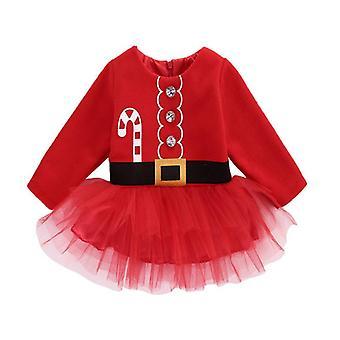 婴儿礼服, 可爱的圣诞公主婴儿图图礼服