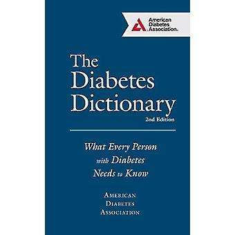 The Diabetes Dictionary by American Diabetes Association ADA