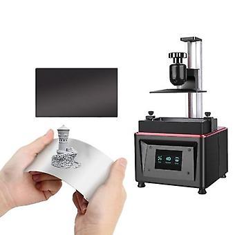 Harpiks 3D printer byg plade fleksibel fjederstål
