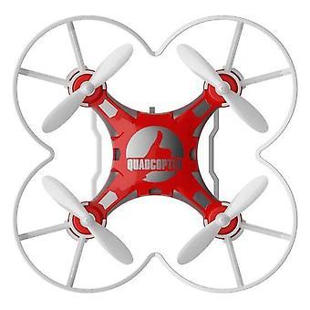 FQ777 124 4 Akse Børns Legetøj Pocket Drone (Rød)
