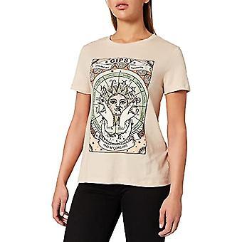 Springfield Camiseta Gipsy T-Shirt, Beige/Camello, XS Women