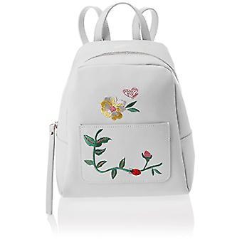Bag Bag 8710, Women's Backpack Bag, White, 24x25x13 cm (W x H x L)