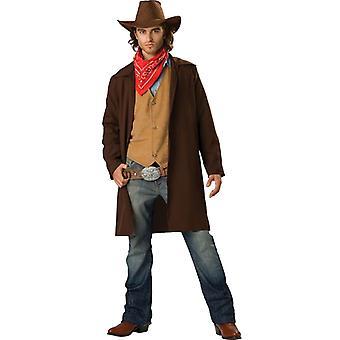 Rawhide Renegade Cowboy Rodeo Gunslinger Western Mens Costume