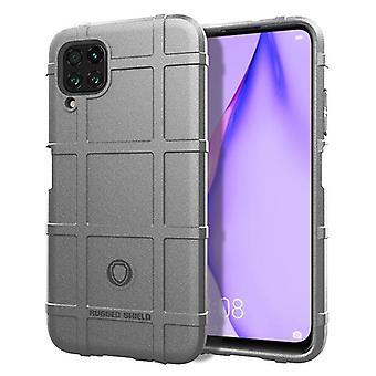 Tpu carbon fibre case for huawei p40 lite grey mfkj-1486