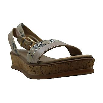 Lucca Lane Womens karel Leather Open Toe Casual Ankle Strap Sandals