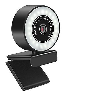 Webcam Hd 5mp / 2k / 1080p avec microphone Led Web Camera
