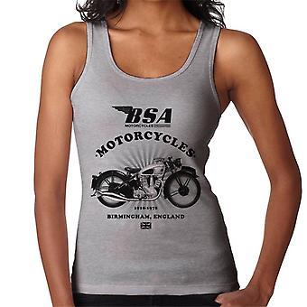 BSA Motorcycles 1910 Birmingham England Women's Vest