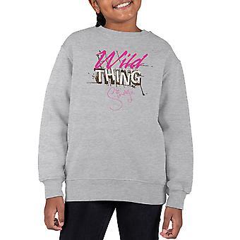 Sindy Wild Thing Kid's Sweatshirt