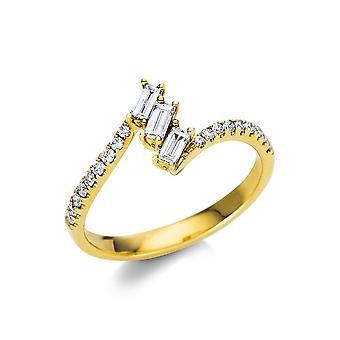 Luna Creation Promessa Ring Mehrfachsteinbesatz  1U694G454-1 - Ringweite: 54
