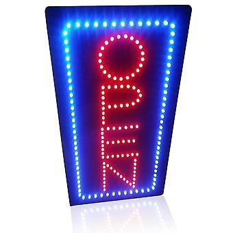 Neon Avoin merkki Kannettava Korkeus Pystysuora Neon Merkki