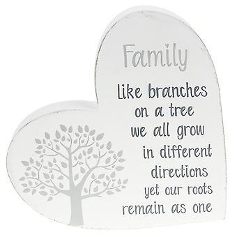 Joe Davies Tree of Life Standing Heart - Familj