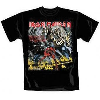 Iron Maiden Number of The Beast Mens T Shirt: Petit