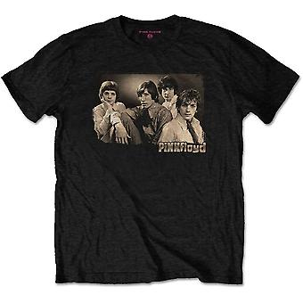 Pink Floyd - Sepia Cravats Unisex Large T-Shirt - Black