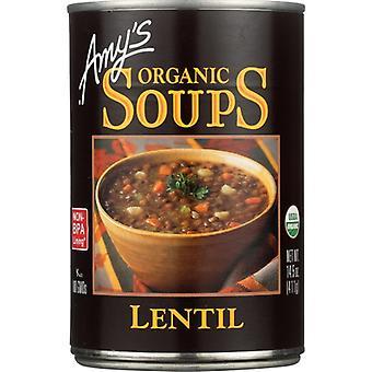 Amys Soup Lentil Gf Org, Case of 12 X 14.5 Oz