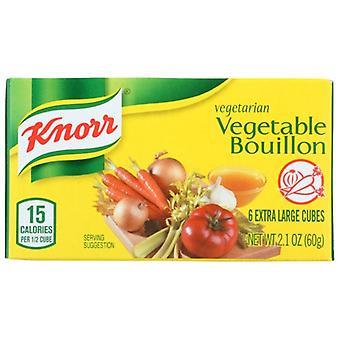 Knorr Bouillon Cube Vegtbl, sag af 24 X 2,1 Oz