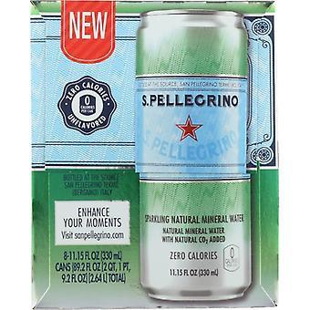 San Pellegrino Water Essenza Sprkl 8Pk, Case of 3 X 89.26 Oz