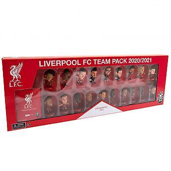 Liverpool FC Team Football Figurine Set (Pack of 19)