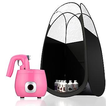 Tanning Essentials Pink ProV Kit with Suntana Trial - Black Tent