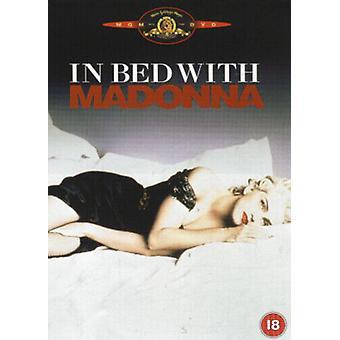 Madonna im Bett mit Madonna DVD (2002) Alek Keshishian cert 18 Region 2