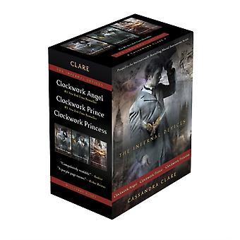 Cassandra Claren infernaaliset laitteet Kellokoneisto AngelClockwork PrinceClockwork Princess
