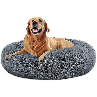 Hund Senge Beroligende Donut Cuddler Hvalp Hund Senge Store hunde Indendørs Hund (60CM)