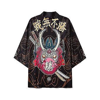 Giacca di abbigliamento samurai per capispalla Kimono