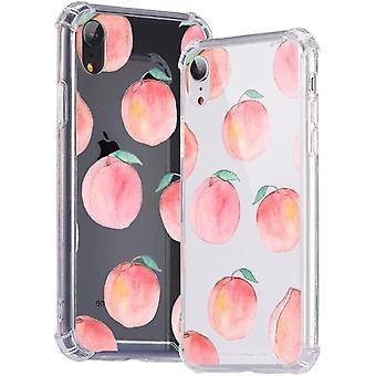 Für iPhone XR Hülle Transparent Handyhülle [TPU Weich Bumper + Hart Plastik Rücken +