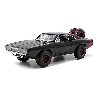Dom's 1970 Dodge Charger R / T Off-road Muscle Die-cast Speelgoedauto