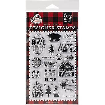 Echo Park Briefmarken - Unter den Sternen