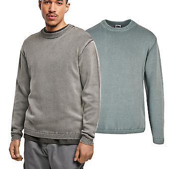 Urban Classics - Tvättad stickad tröja